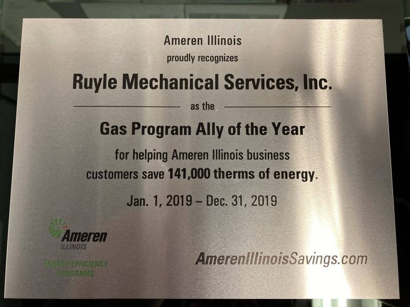 2019 Ameren Program Ally of the Year